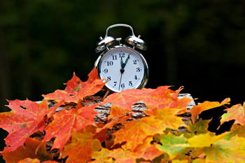 Clocks go Back in Autumn
